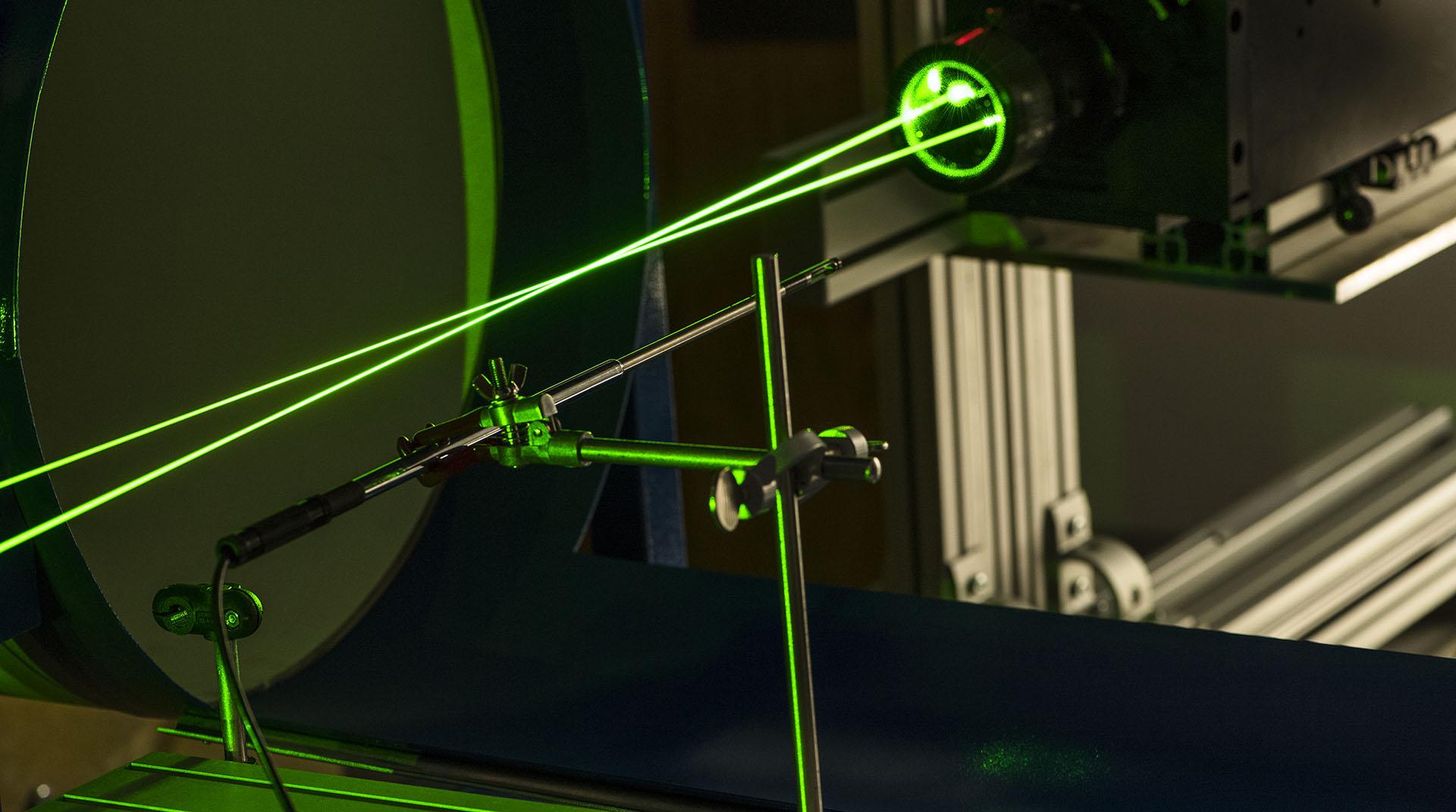 Etalonnage d'anémomètres au laser